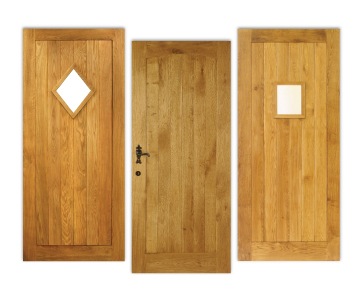Solid Oak External Doors