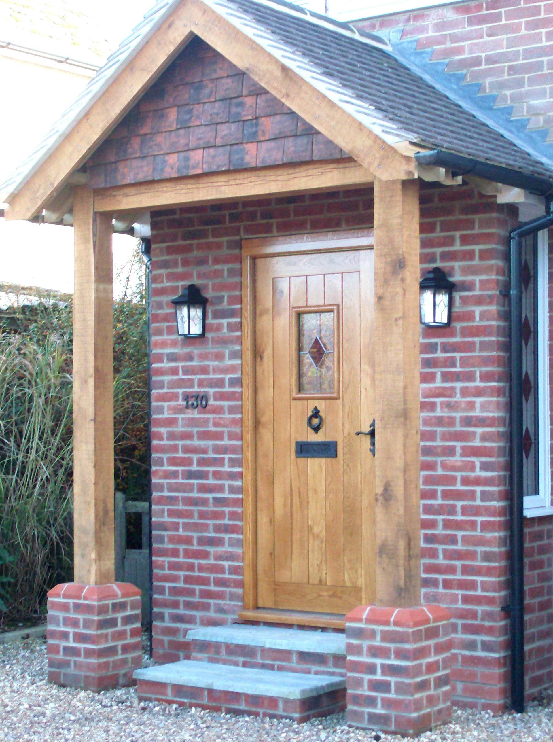 OX Bow External Solid Oak UK Oak Doors