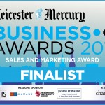 We're Finalists In The Leicester Mercury Business Awards!